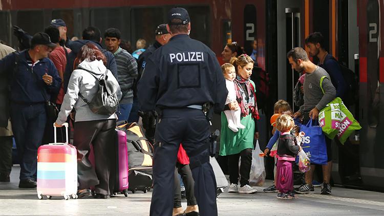 Alemania introduce un control fronterizo en el límite con Austria