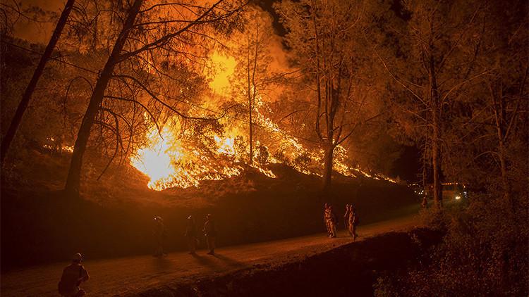 Estado de emergencia en California: Los incendios ya han destruido 1.000 viviendas