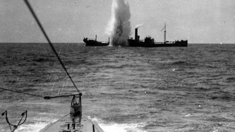 ¿Cómo trató Hitler de aterrorizar al mundo con sus submarinos?
