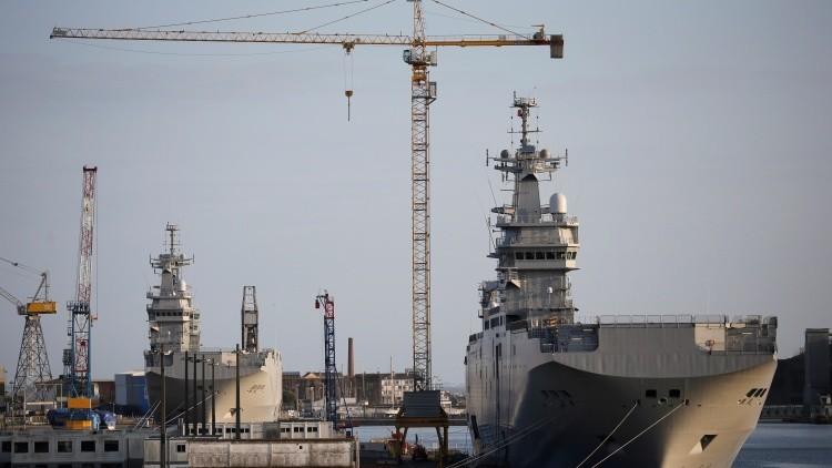 Rusia: El acuerdo entre Francia y Egipto sobre los Mistral se ajusta a los intereses de Moscú