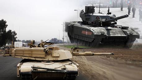 Duelo de 'invencibles': El tanque ruso T-14 Armata contra el M1 Abrams de EE.UU.