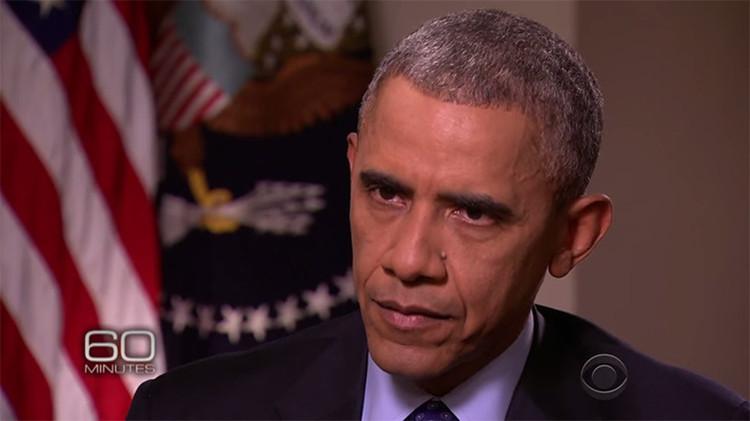 Video: Obama se enoja con el presentador de la CBS que le dijo que Putin desafía su liderazgo
