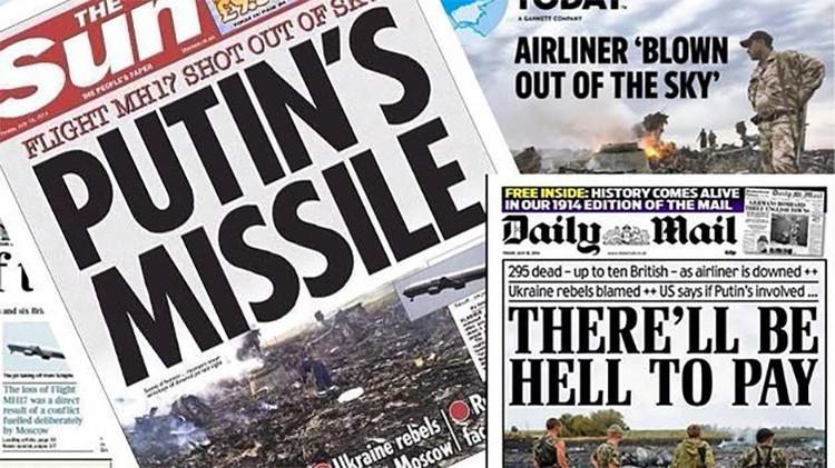 Medios internacionales tergiversan las causas de la tragedia del MH17 en Ucrania