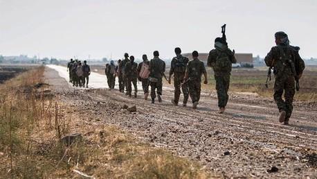 Milicianos del Estado Islámico.