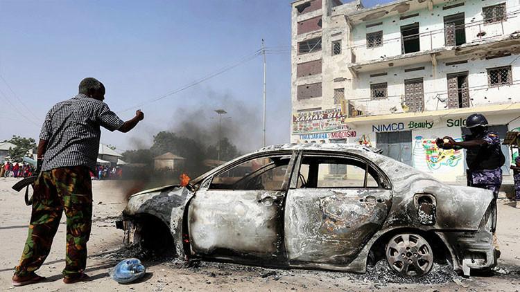 Una explosión en la capital de Somalia deja varios muertos