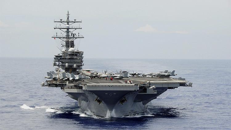 Un submarino chino persiguió a un portaaviones estadounidense cerca de Japón