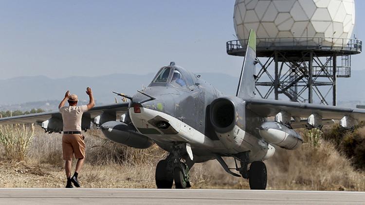 Las Fuerzas Aéreas rusas atacan 277 objetivos terroristas en seis provincias sirias en dos días