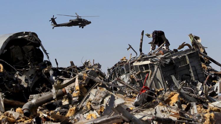 Rusia revela quién perpetró el atentado del avión ruso en Egipto