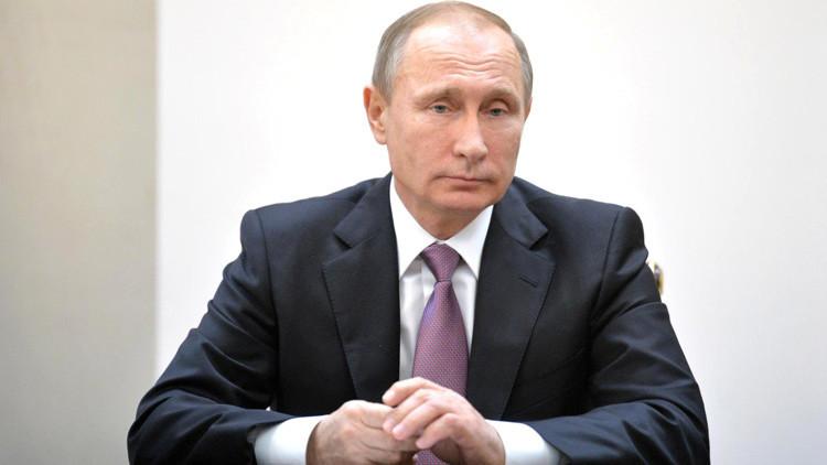 """Putin: """"Tras el derribo del Su-24 en Siria tendremos que reaccionar para excluir futuros incidentes"""""""