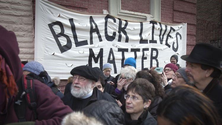 Detienen a varios manifestantes del movimiento Black Lives Matter en Nueva York (foto, videos)