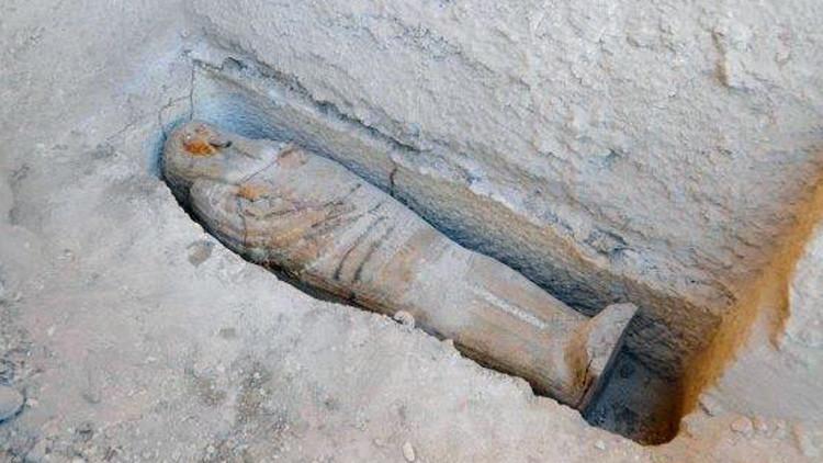 Aún queda mucho por descubrir: hallan un misterioso sarcófago en Egipto (fotos)