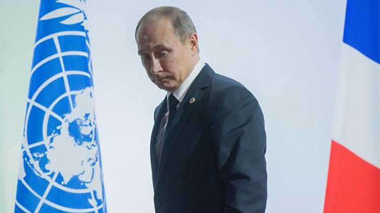 """Putin: """"Espero que la cooperación antiterrorista con Francia avance más que con otros países"""""""