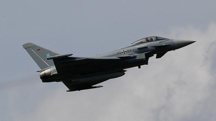 Alemania no compartirá con Rusia datos sobre los vuelos de su Fuerza Aérea en Siria