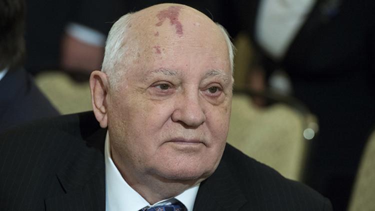 """Gorbachov: """"El deterioro de las relaciones ruso-turcas será un golpe para los asuntos europeos"""""""