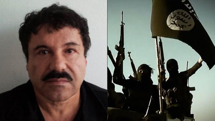 ¿El Chapo amenaza al Estado Islámico?