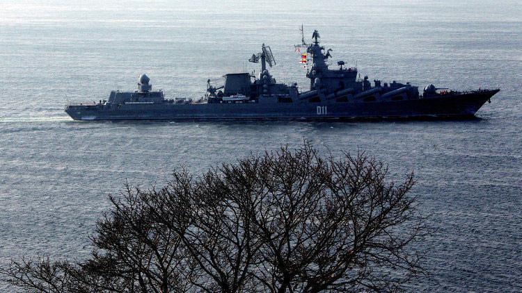 Rusia y la India prueban sus capacidades navales en ejercicios con nuevas técnicas de defensa aérea