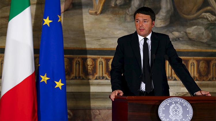 Italia abre en la UE el debate sobre la retirada de las sanciones antirrusas