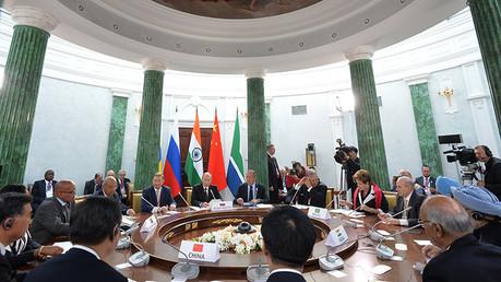 Países miembros del grupo BRICS