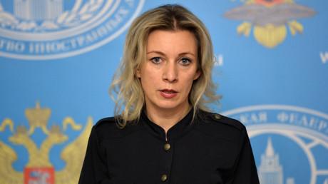 La portavoz de la Cancillería rusa María Zajárova