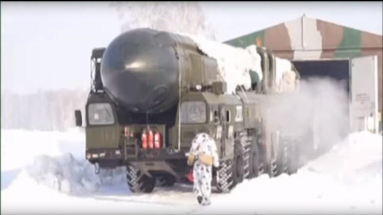 Video: Rusia inicia maniobras con misiles a gran escala