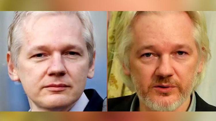 Video 'time-lapse' de RT: Cómo ha cambiado Assange desde su detención en 2012