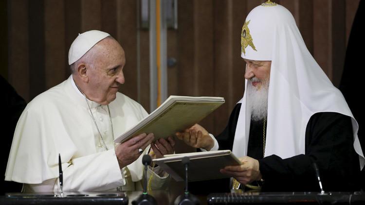 El evento del milenio: ¿Qué se acordó en el histórico encuentro entre el papa y el patriarca ruso?