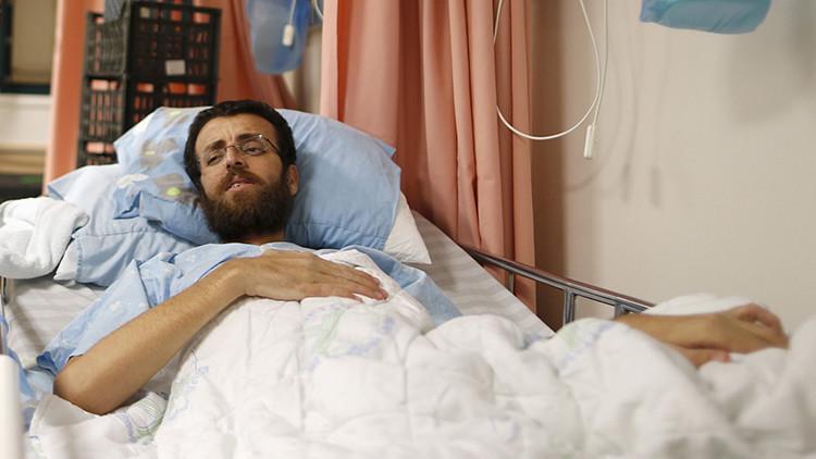 """Alto precio por la libertad de expresión"": Un palestino en huelga de hambre está a punto de morir"