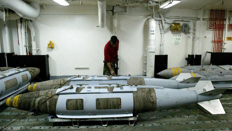 EE.UU. arma a Turquía con 'bombas inteligentes' (video)