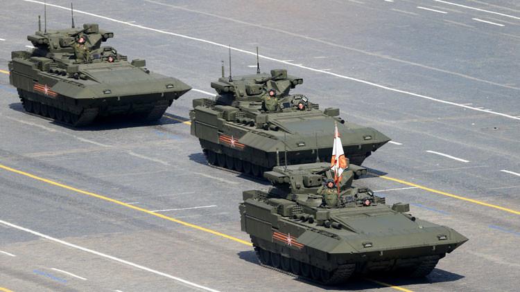 Mucho más Armata: el supertanque será equipado con un interceptor UV de misiles enemigos