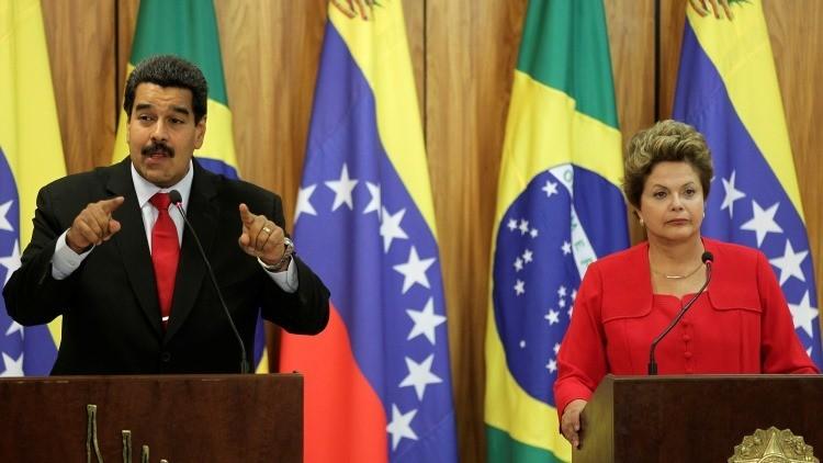 """Maduro: """"Hay un golpe de Estado mediático y judicial contra Dilma Rousseff"""""""