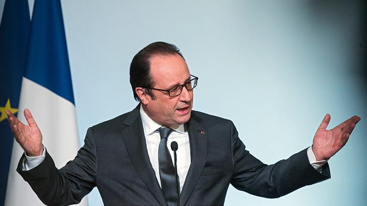 """La Casa Blanca censura las palabras de Hollande sobre el terrorismo """"islamista"""""""