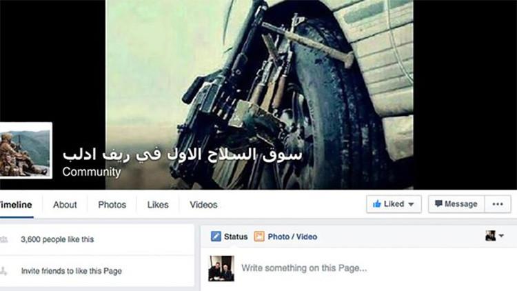 Hallan en Facebook bazares secretos con armas usadas por el Estado Islámico