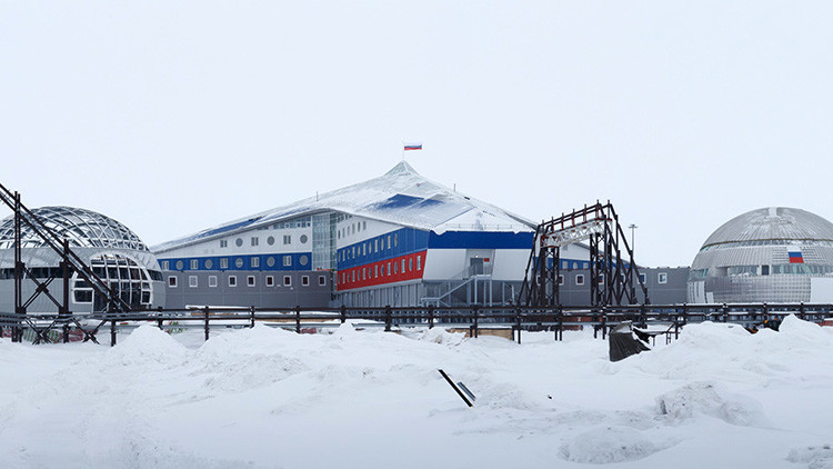 Una fortaleza en la nieve: Eche un vistazo a la nueva base militar rusa en el Ártico (fotos,video)