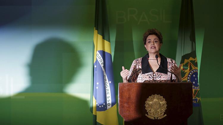 """Rousseff denunciará ante la ONU el """"golpe de Estado sin armas"""" en Brasil"""