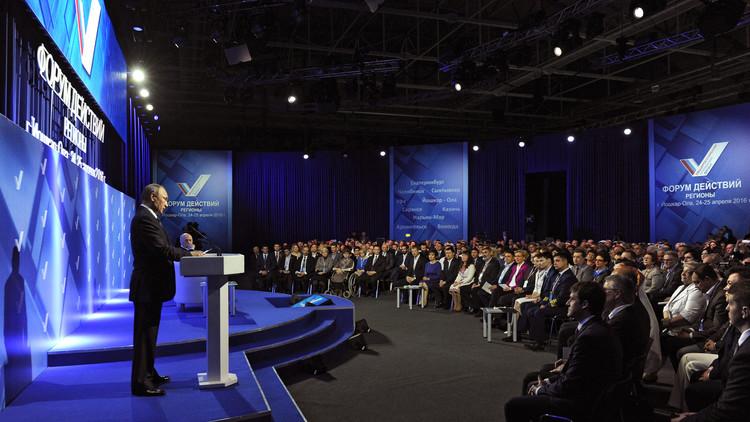 """Putin: """"Para nuestros aliados el periodismo libre es de ellos, y lo nuestro es propaganda"""""""