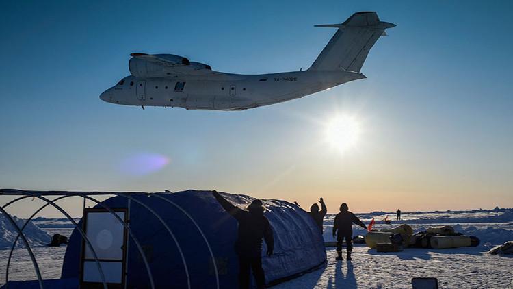 Primer video en 360º del campamento flotante ruso en el Ártico (VIDEO)