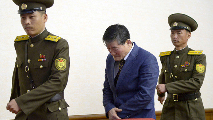 Corea del Norte: condenan a 10 años de prisión a un estadounidense por espionaje
