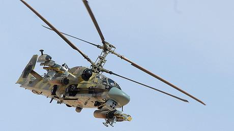 El helicóptero de ataque ruso Ka-52