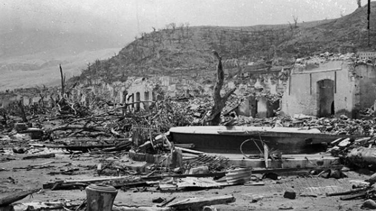 Fotos: Desolador paisaje tras la erupción del volcán más devastador del siglo XX