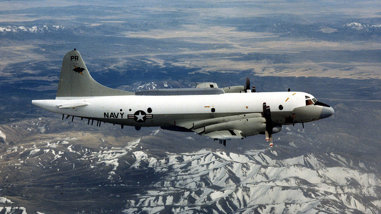 Aviones militares chinos interceptan un avión espía de EE.UU. sobre el mar de la China Meridional