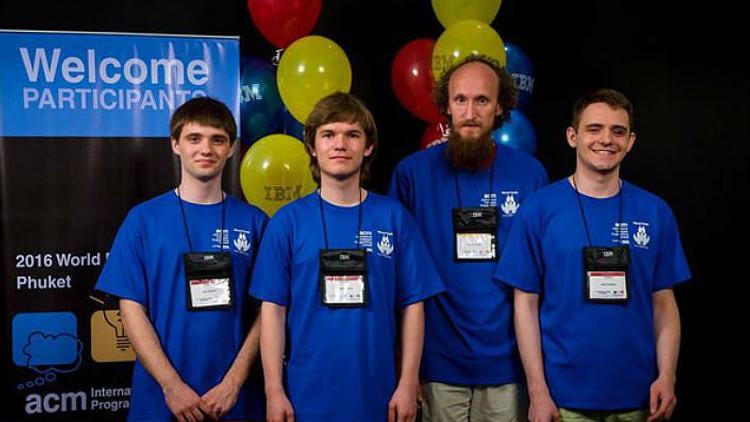 Los estudiantes rusos de programación, los mejores del mundo