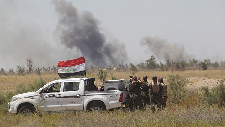 Video: Éxodo masivo y caótico de terroristas del Estado Islámico de la ciudad iraquí de Faluya
