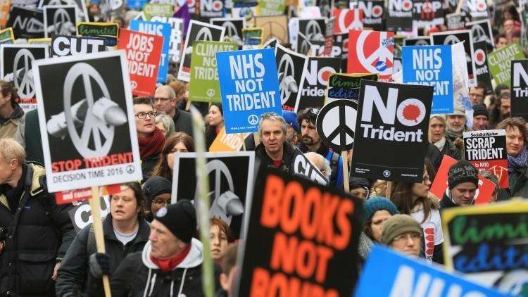 Revelan que el Reino Unido moderniza su arsenal nuclear Trident en secreto