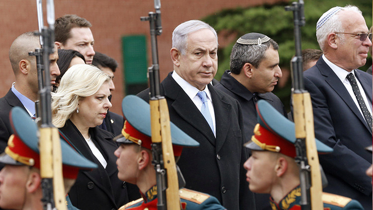 El primer ministro israelí, Benjamín Netanyahu, llega a Moscú en visita oficial