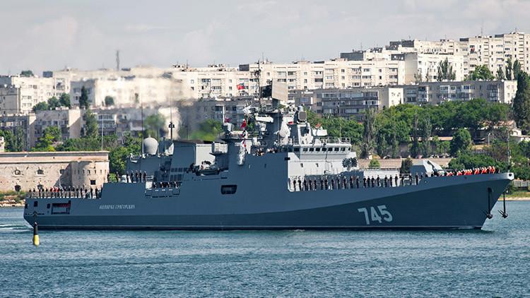 La Flota del Mar Negro rusa recibe el primer buque de alta mar en 35 años