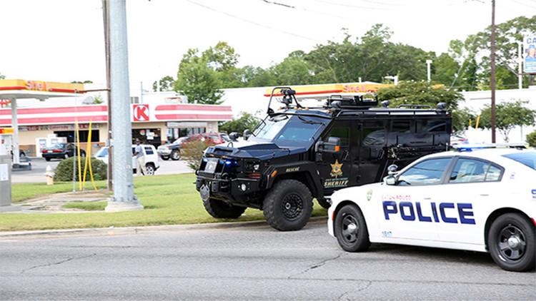 Video: El momento exacto del tiroteo contra policías en la ciudad de Baton Rouge, EE.UU.