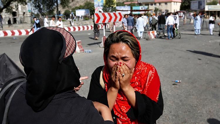 Así fue el doble atentado en Kabul (FUERTES IMÁGENES 18+)