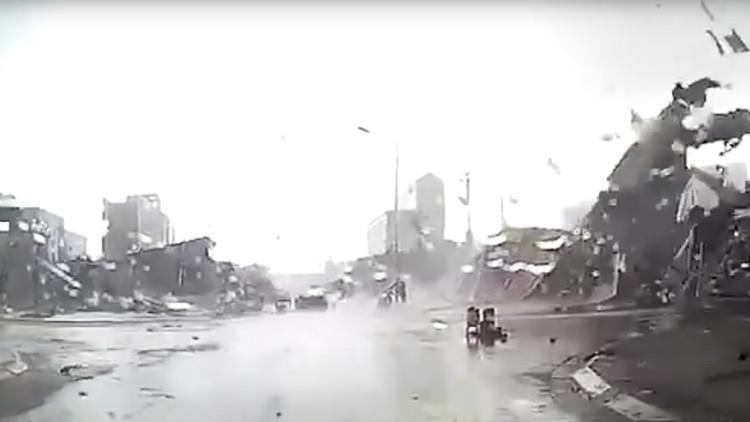 'Twister': Devastador tornado destruye numerosos edificios en el norte de Vietnam (video impactante)