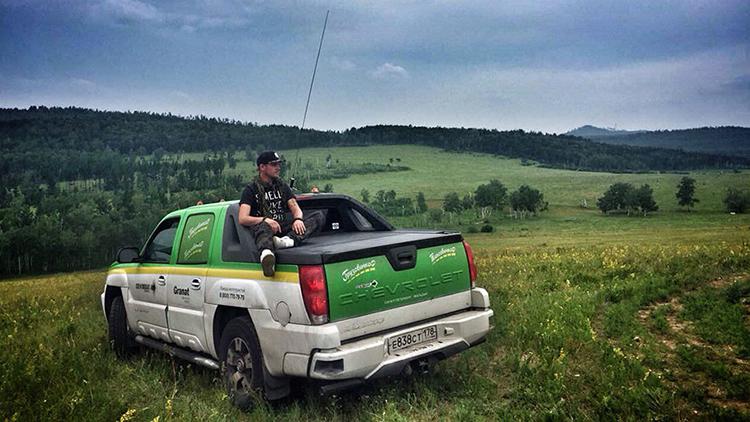 Un ruso emprende un viaje de 12.500 kilómetros en taxi