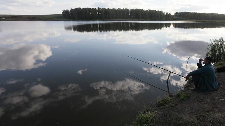 ¿Un submarino en un estanque de la región de Moscú?